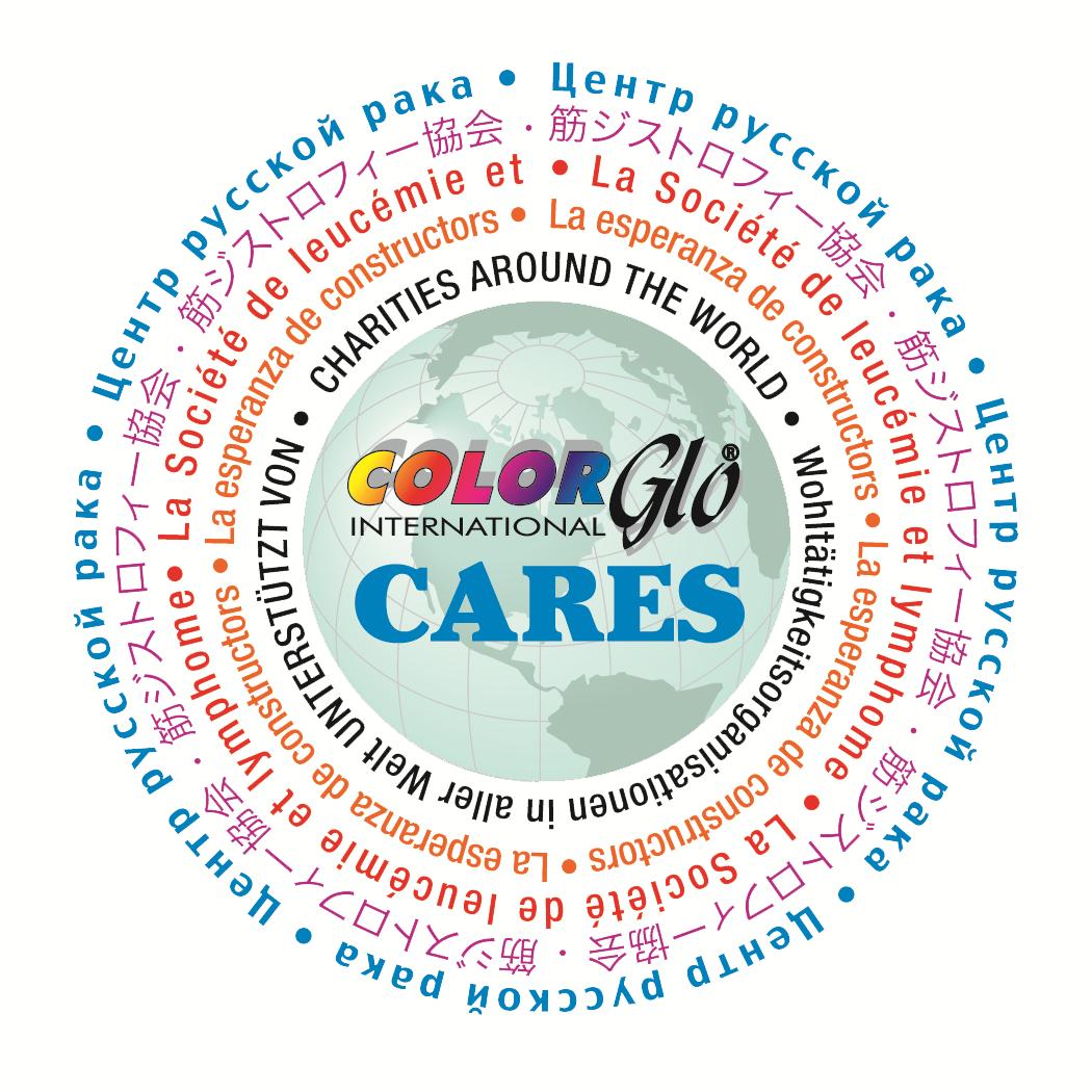 Color Glo Cares Community Logo