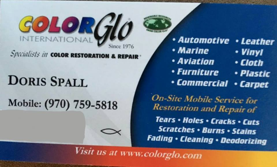 Doris Spall, Color Glo International Colorado