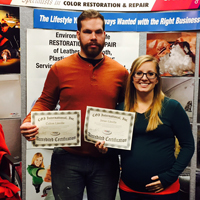 Colton and Janae Linville - Serving Topeka, Kansas and Surrounding CountiesColorGlo Renewed Interior Professionals, LLCPhone: 785-307-9878