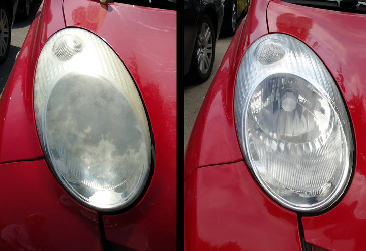 Headlight Restoration - by Color Glo International