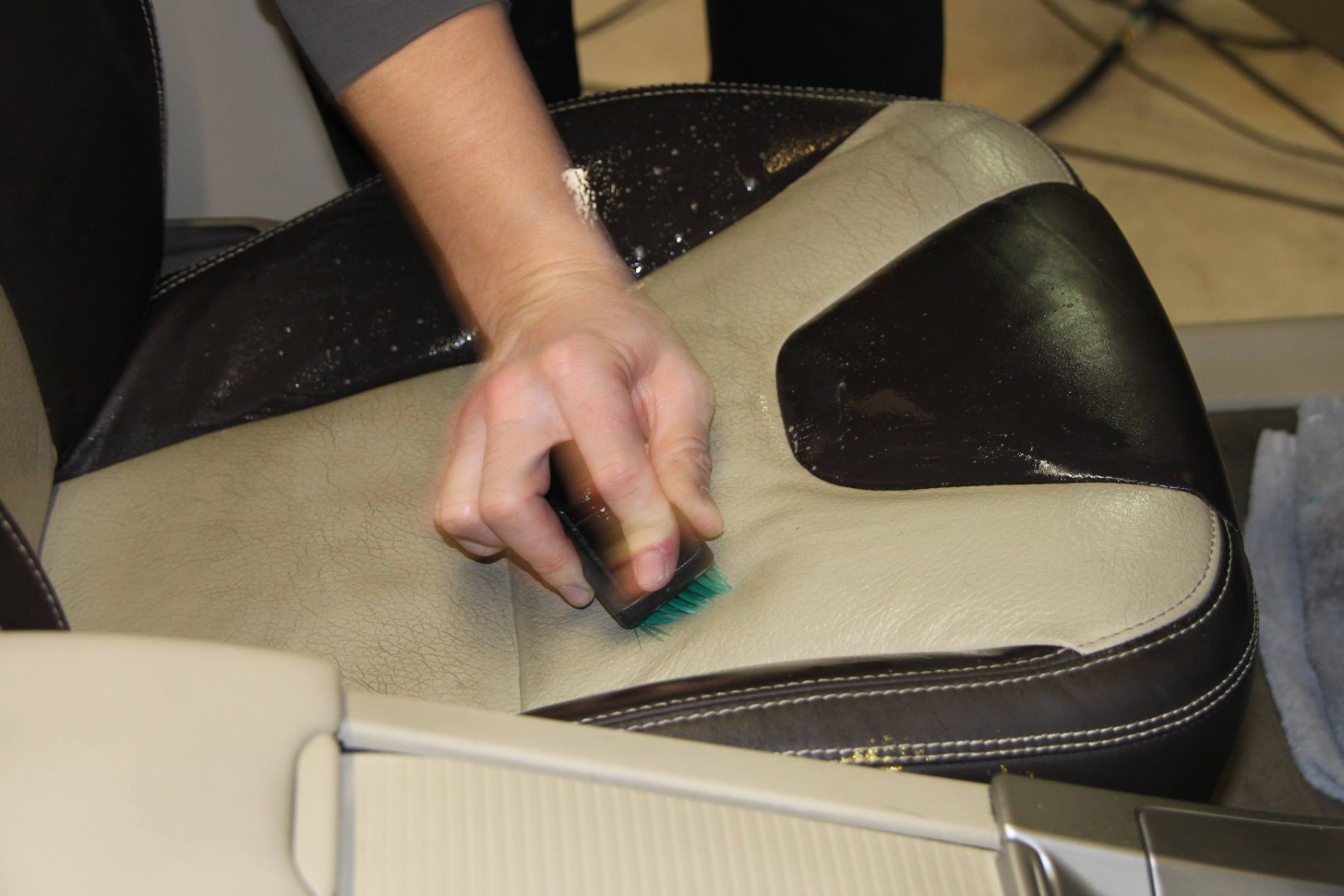 Leather Care - Color Glo International specializes in leather cleaning and refurbishing.