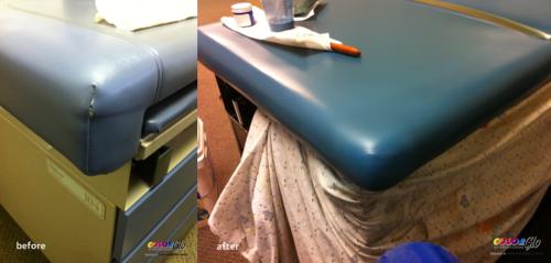 Medical Vinyl Restoration by Color Glo International