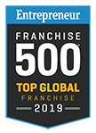 Franchise 500 - Color Glo International ranks in the Entrepreneur Top Global Franchise 500 2019