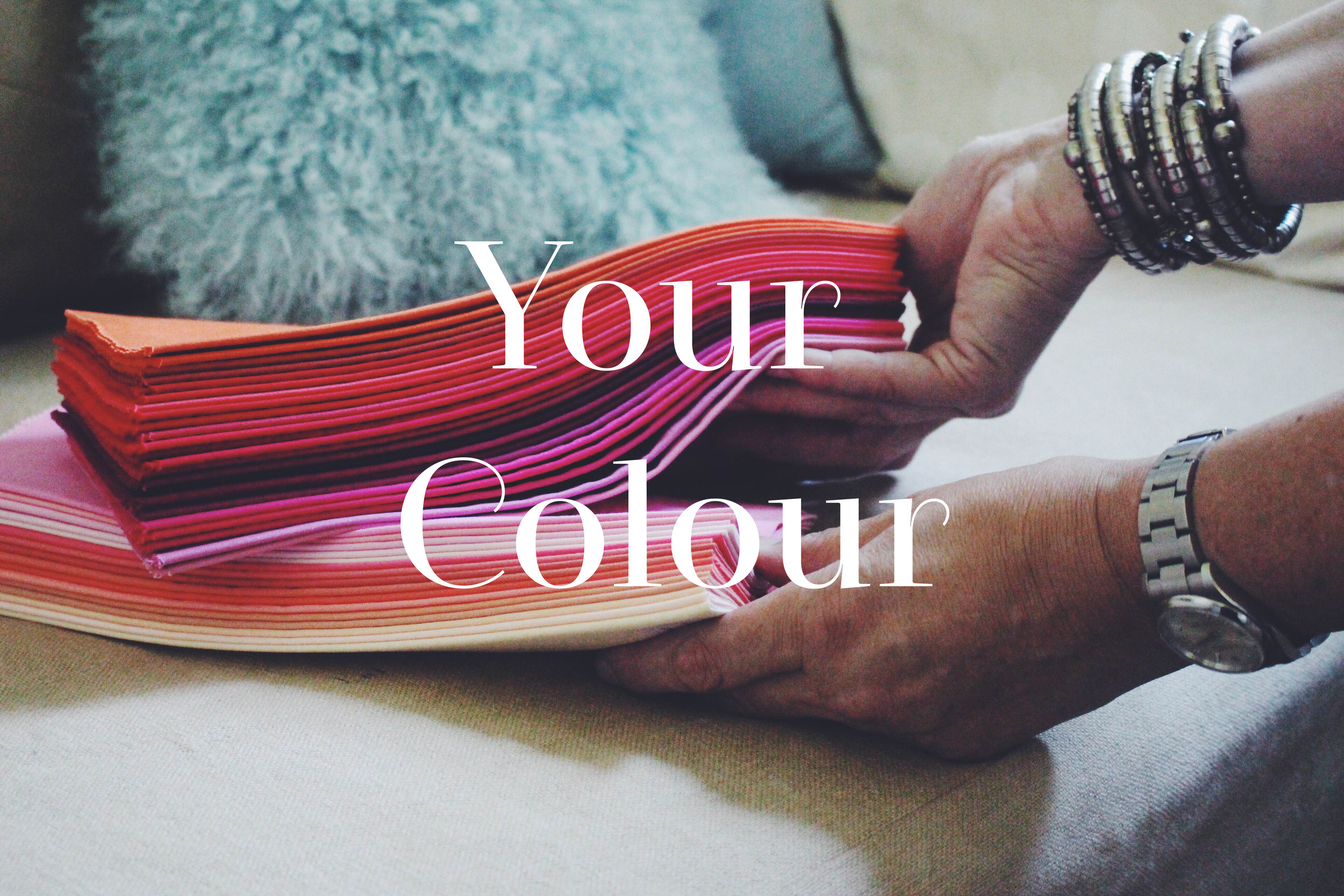 Get comfy with colour