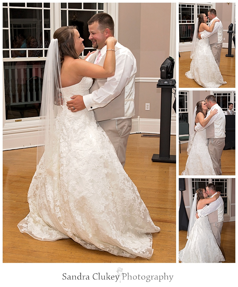 Bride and Groom Dance. Whitestone Inn Wedding