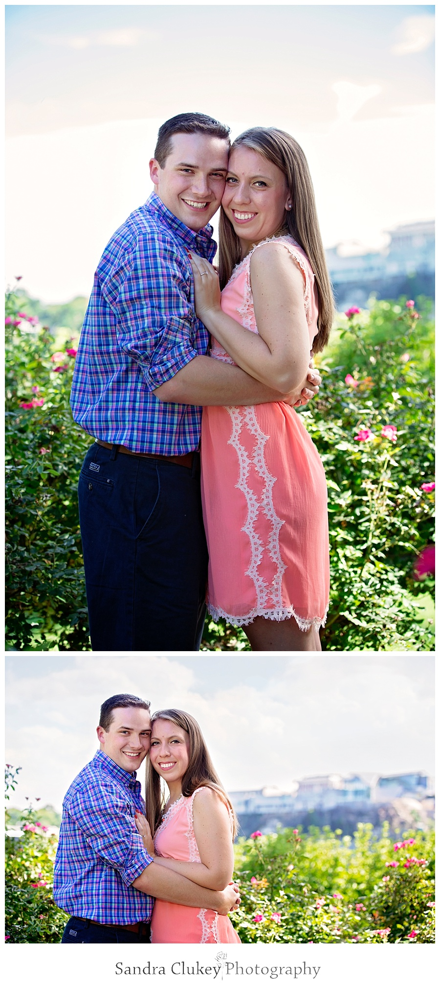 Adorable Engaged Couple