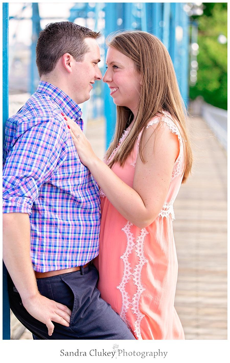 Evan and Brittany on Bridge
