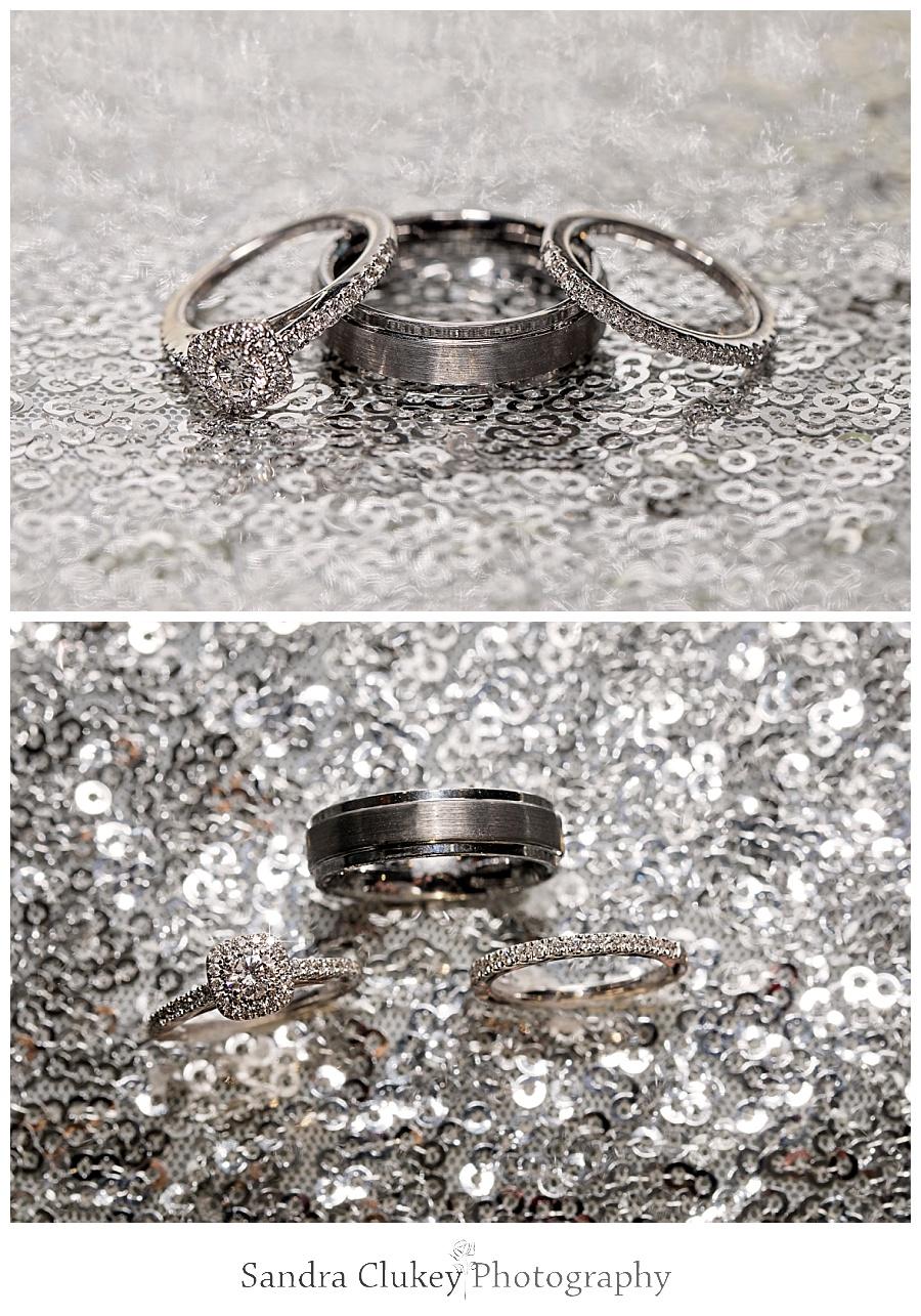 Exquisite wedding ring set