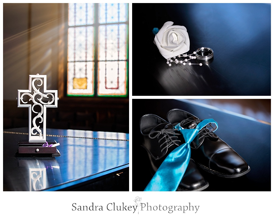 Groom details and unity cross