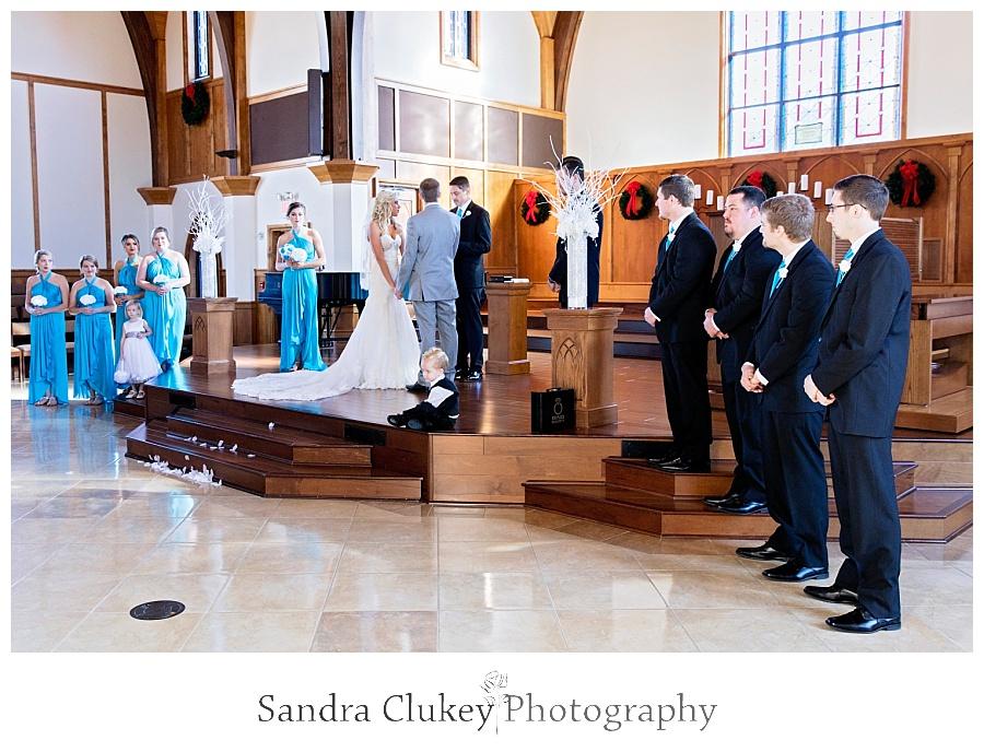Wedding at Lee University Chapel