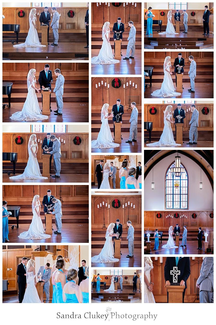 Wedding Ceremony at Lee University Chapel, Cleveland TN
