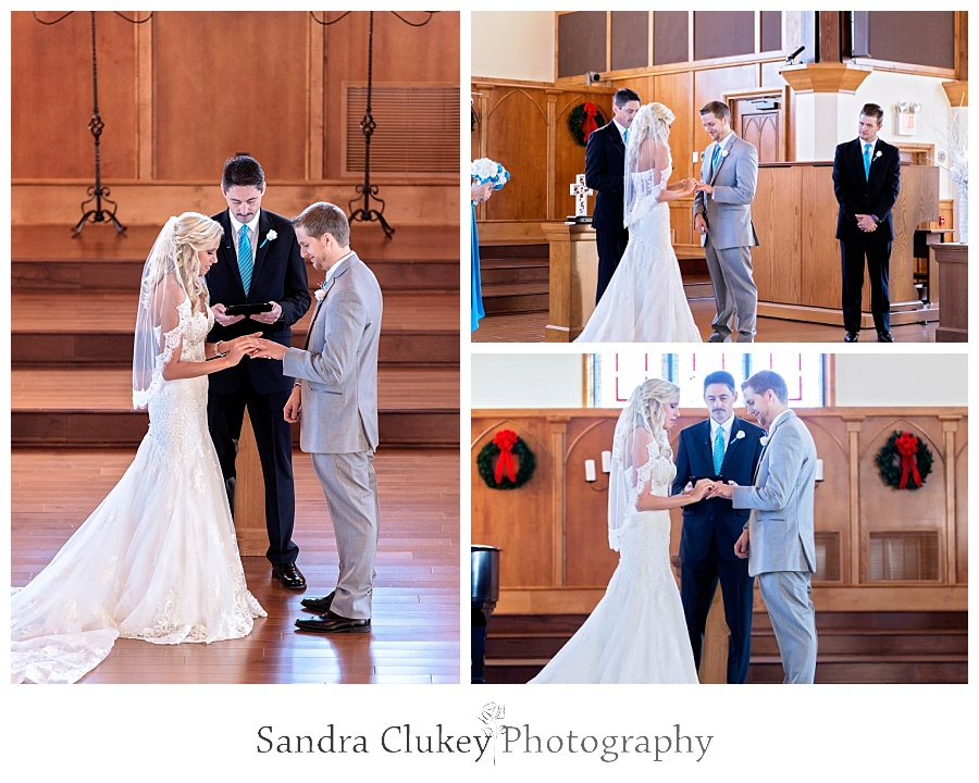 The Chapel at Lee University Wedding