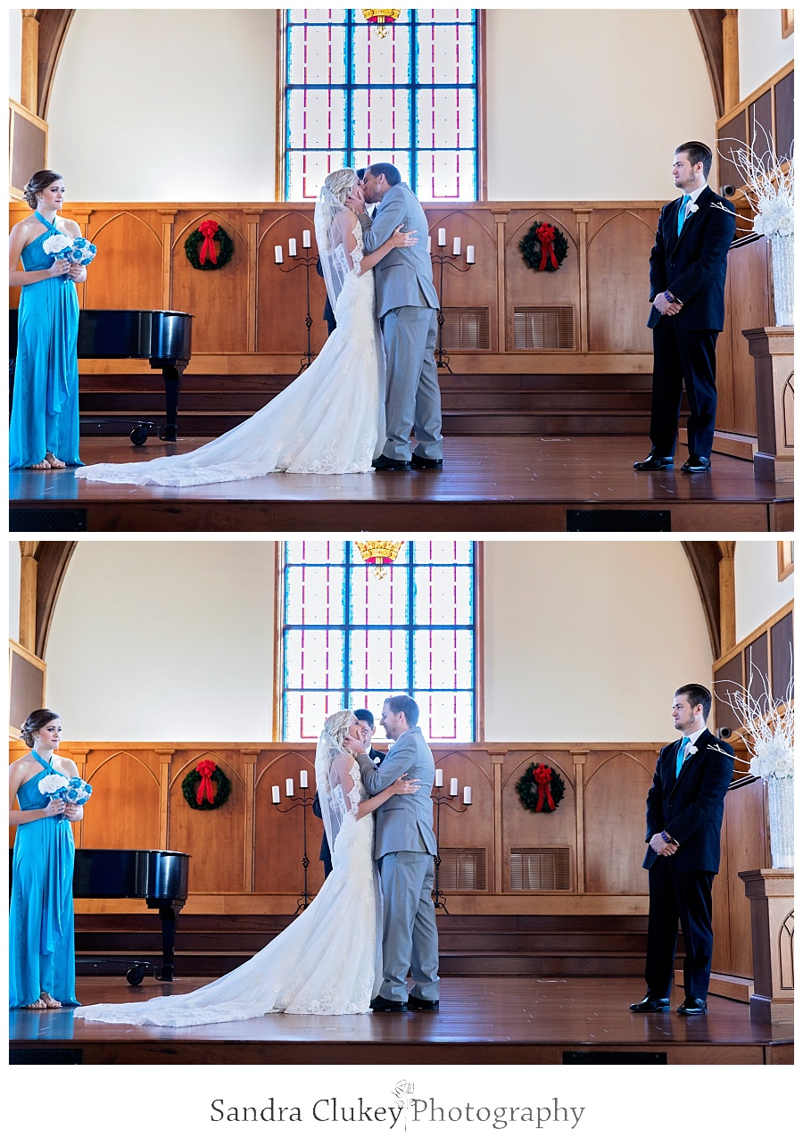 Saying I DO in the Chapel at Lee University