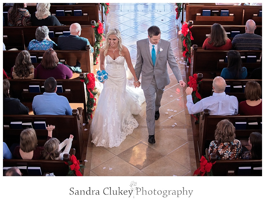 Wedding in the Chapel at Lee University