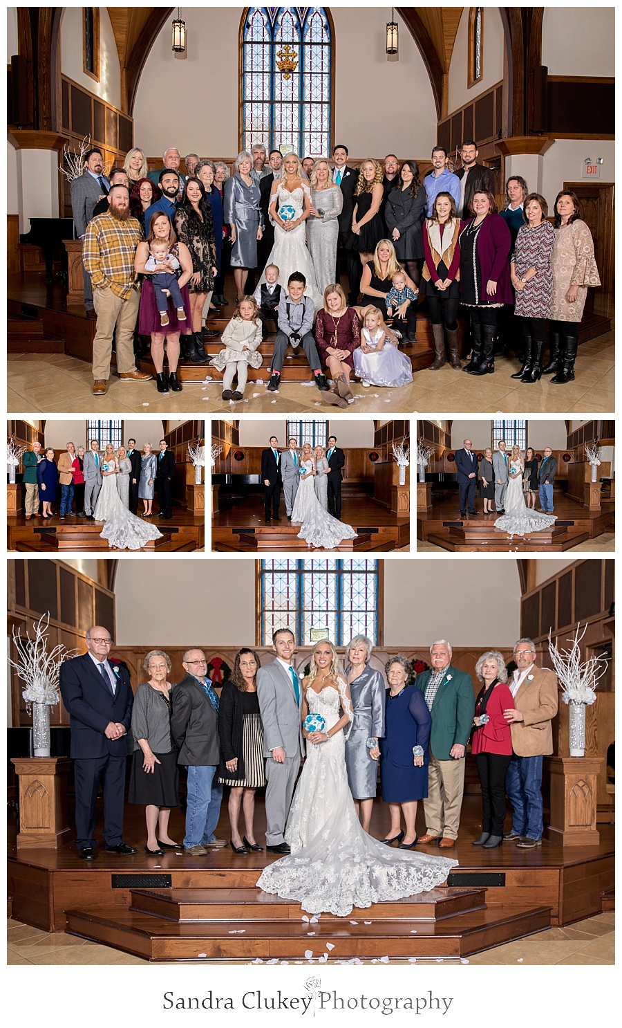 Gorgeous Formals in the Chapel at Lee University