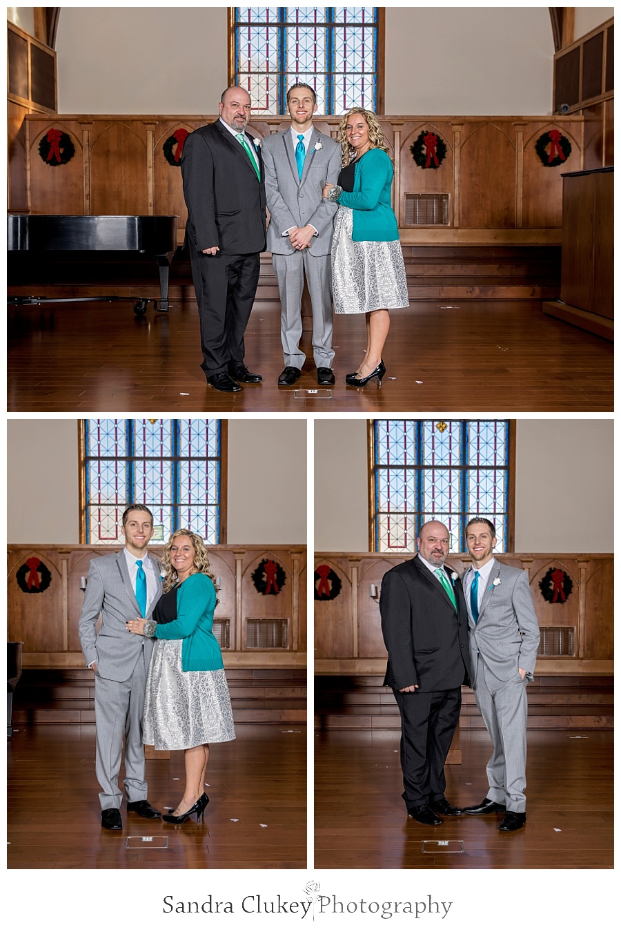 Magnificent Groom formals with parents