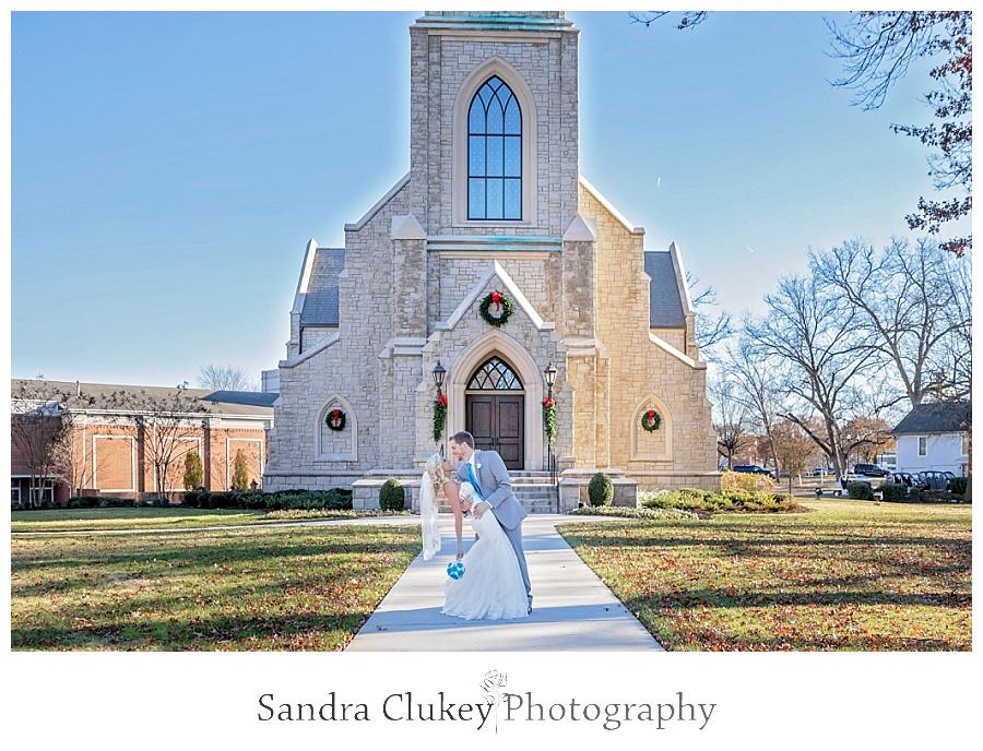 Bride and Groom Lee Chapel, TN