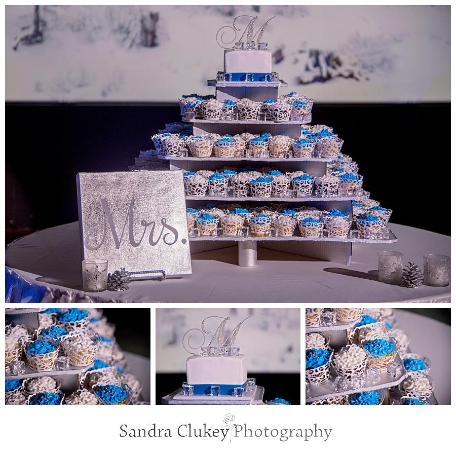 Desirable wedding cup cakes
