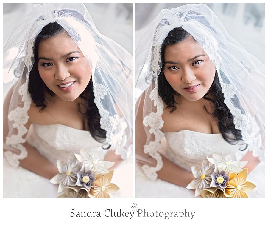 Sensuous bride