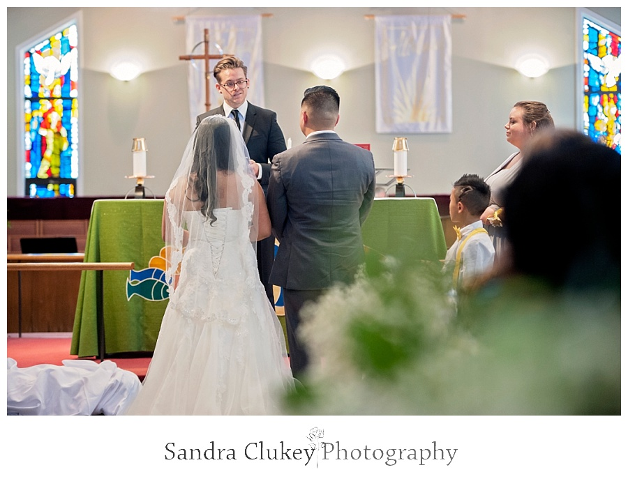 Celebration of marriage takes place