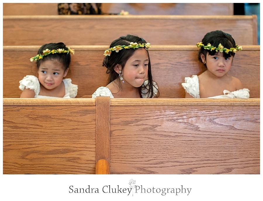 Delightful flower girls