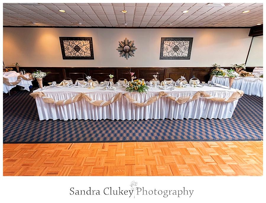 Extravagant main table