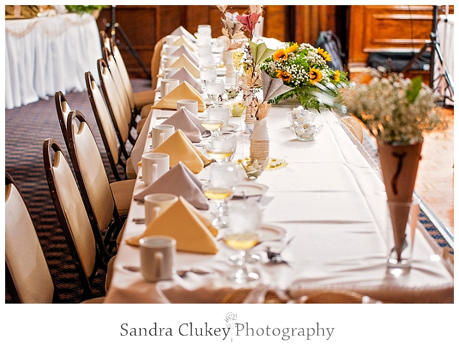 Details abound at the main table