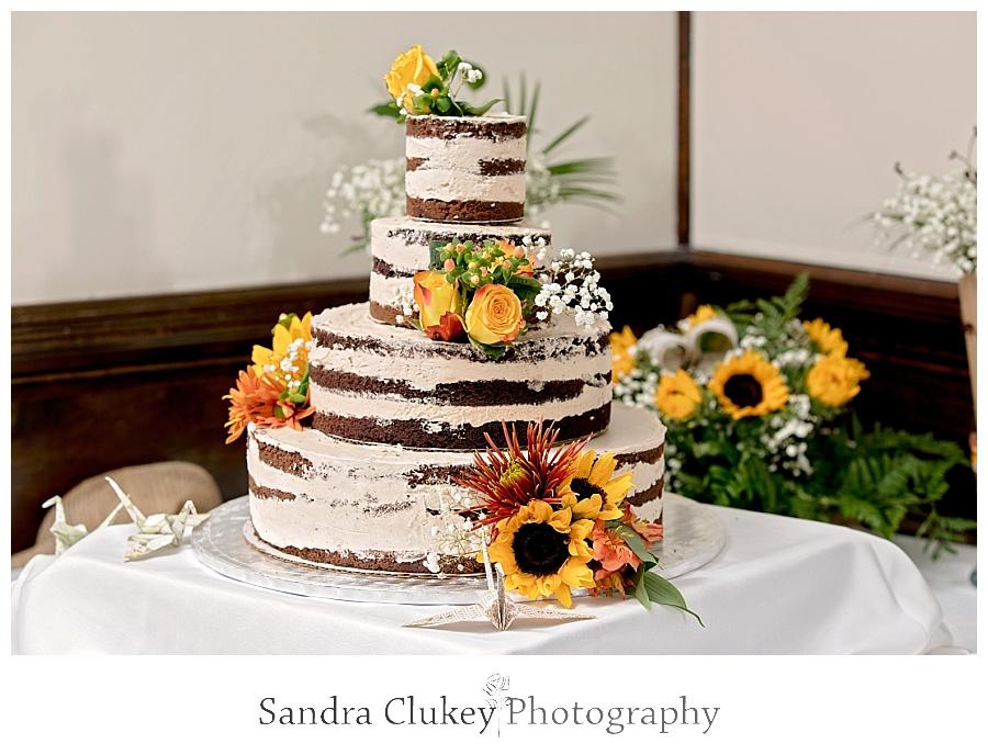Creative cake to be enjoyed later