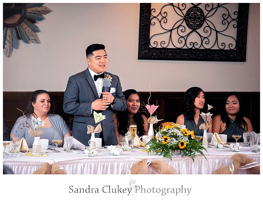 Gracious groom