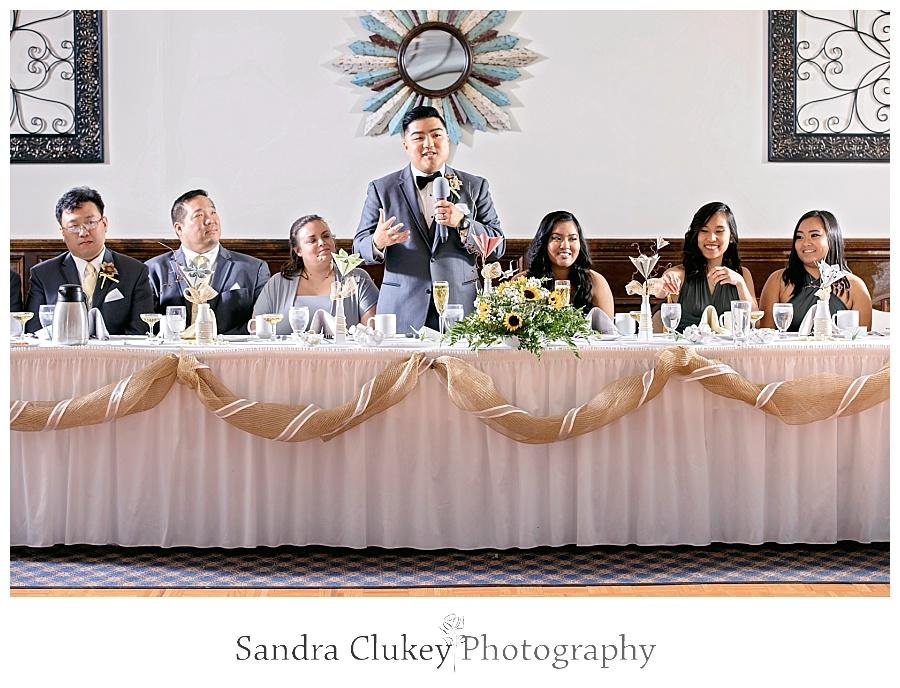 Fabulous groom speech