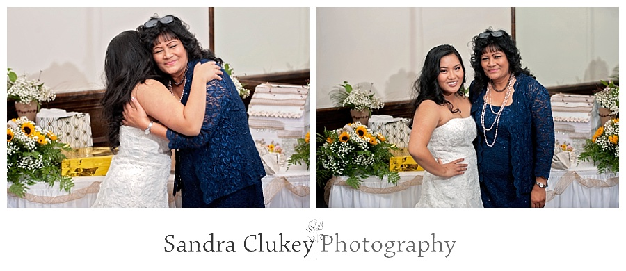 Fabulous Bride with family member