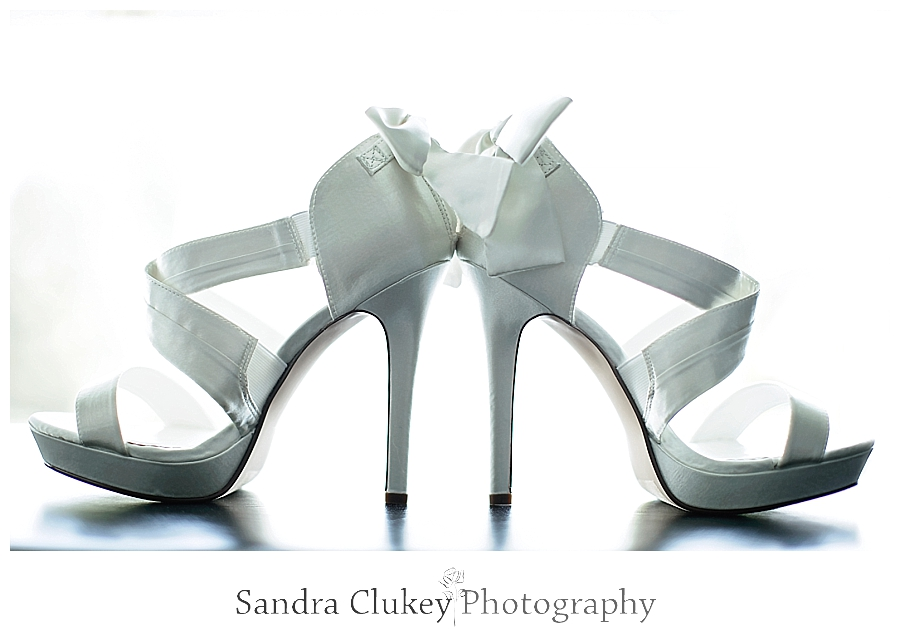 Gorgeous White Wedding Bridal Shoes