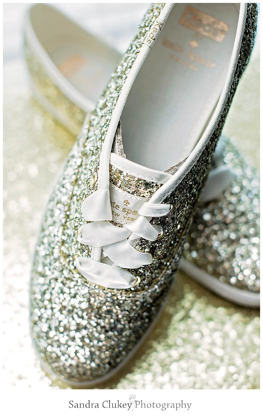 Comfortable Kate Spade Gold Bridal Sneakers