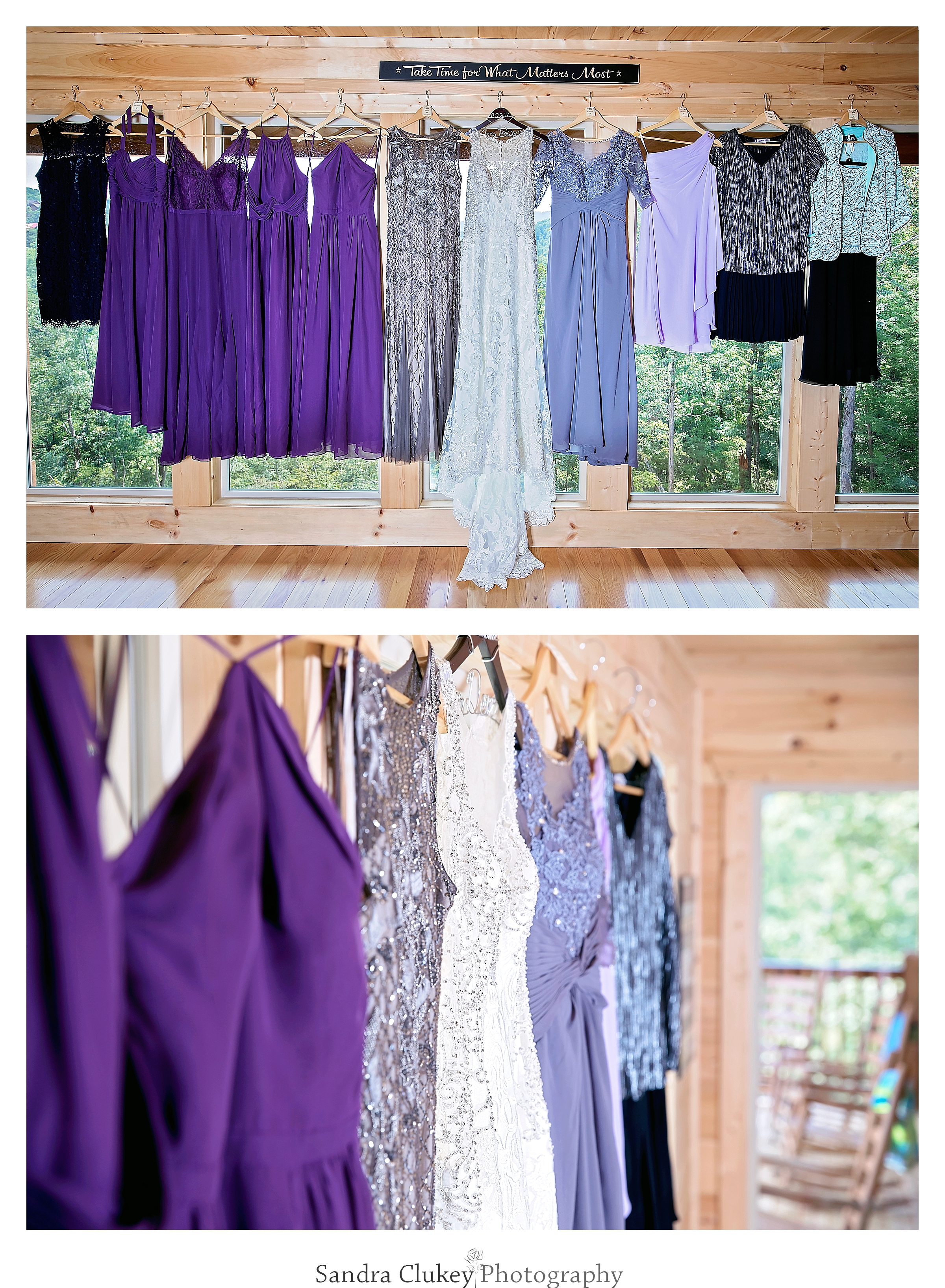 Multitude of dresses