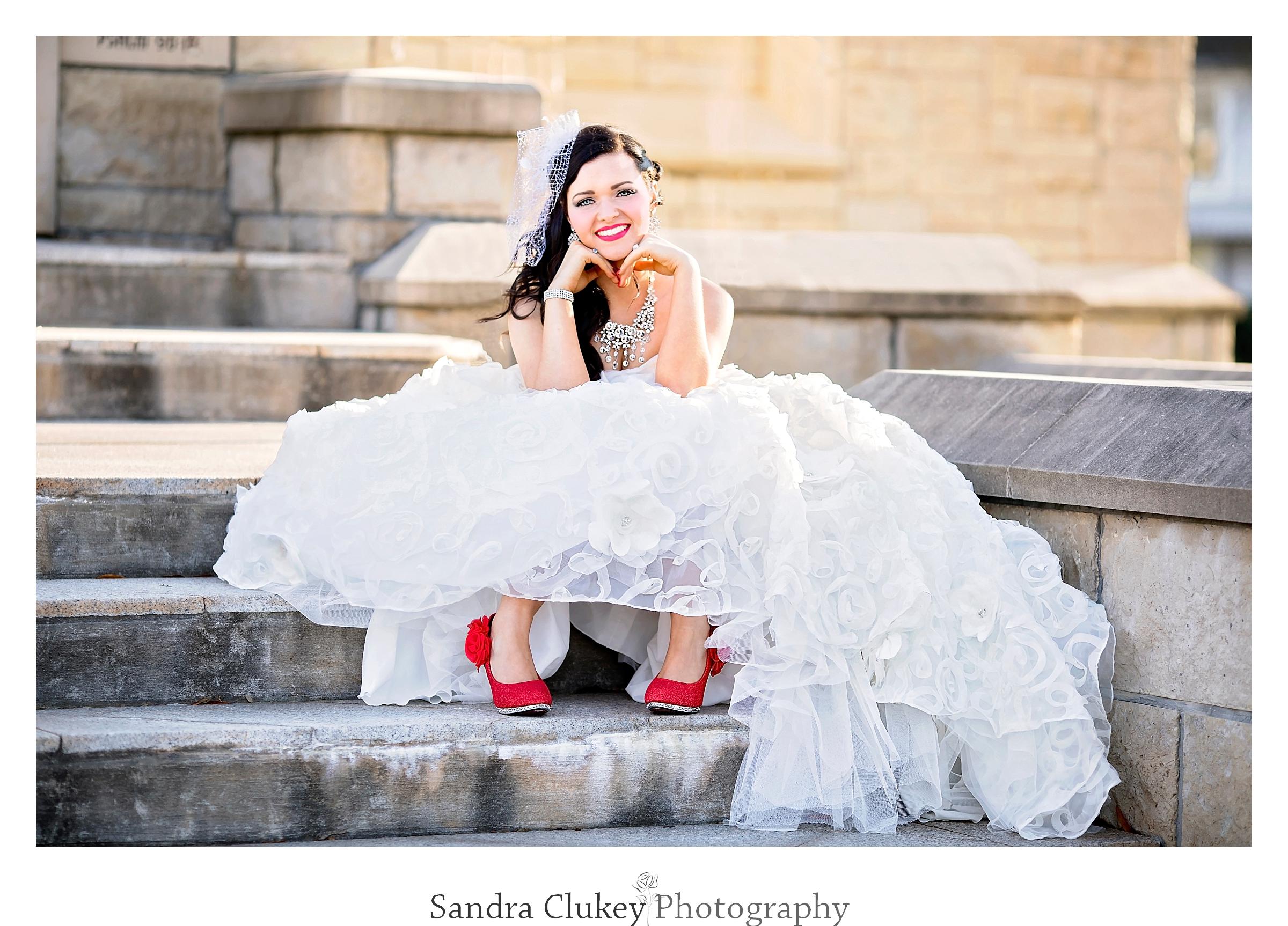 Wedding Bridal Portrait, Lee University Chapel