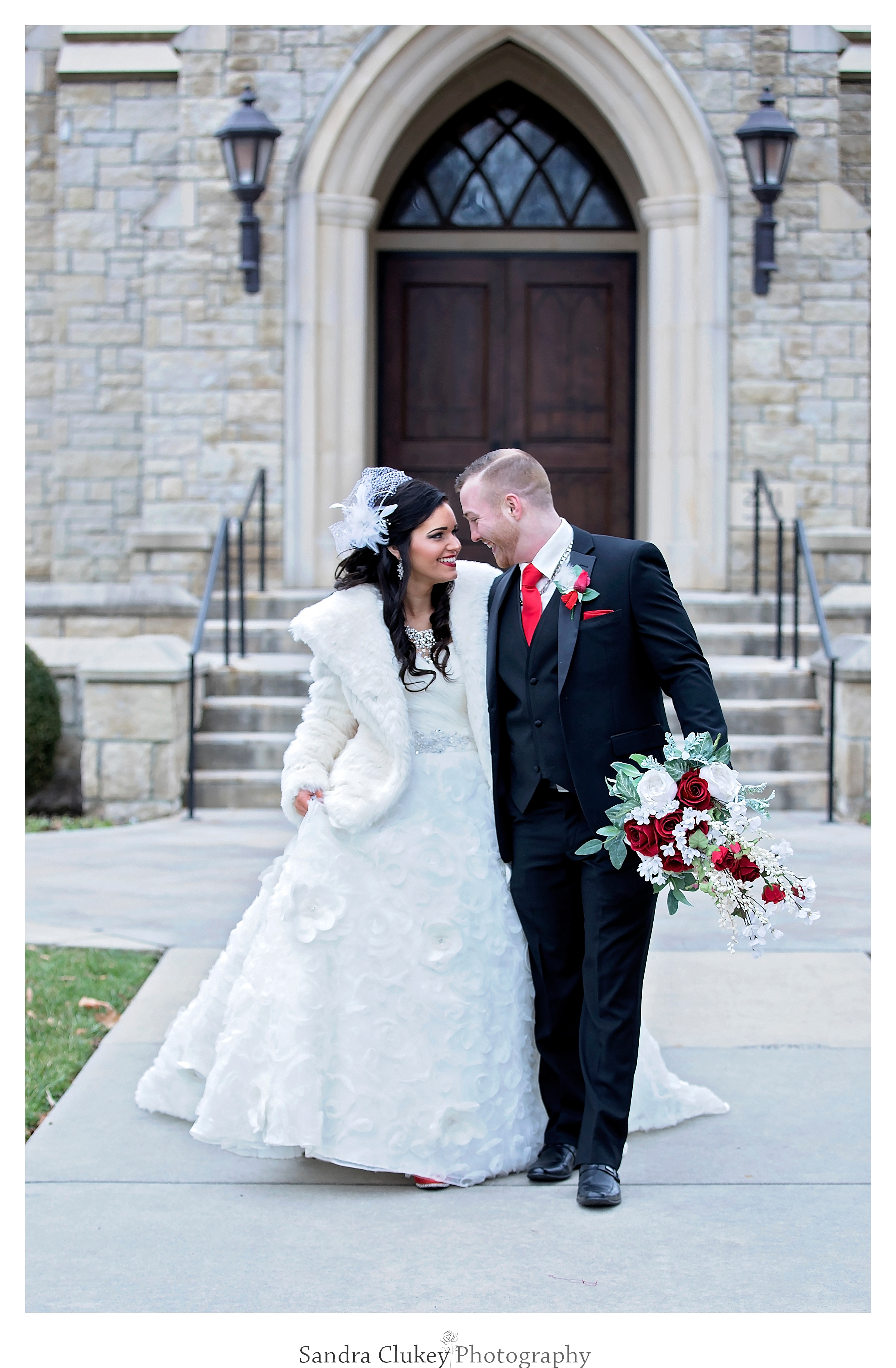 Love is in the air during Wedding at Lee University Chapel, Cleveland TN