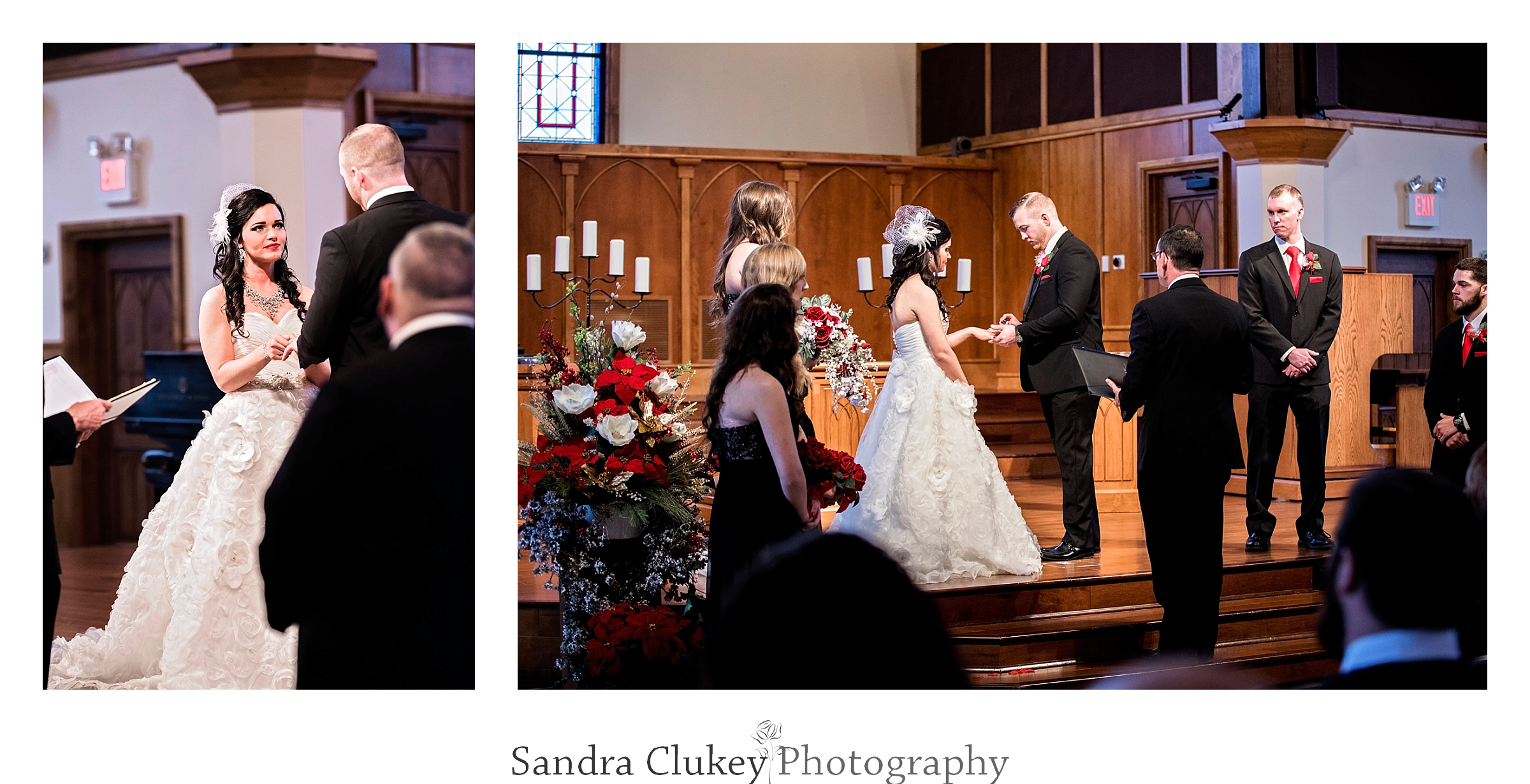 Rings Exchanged during Wedding at Lee University Chapel, Cleveland TN