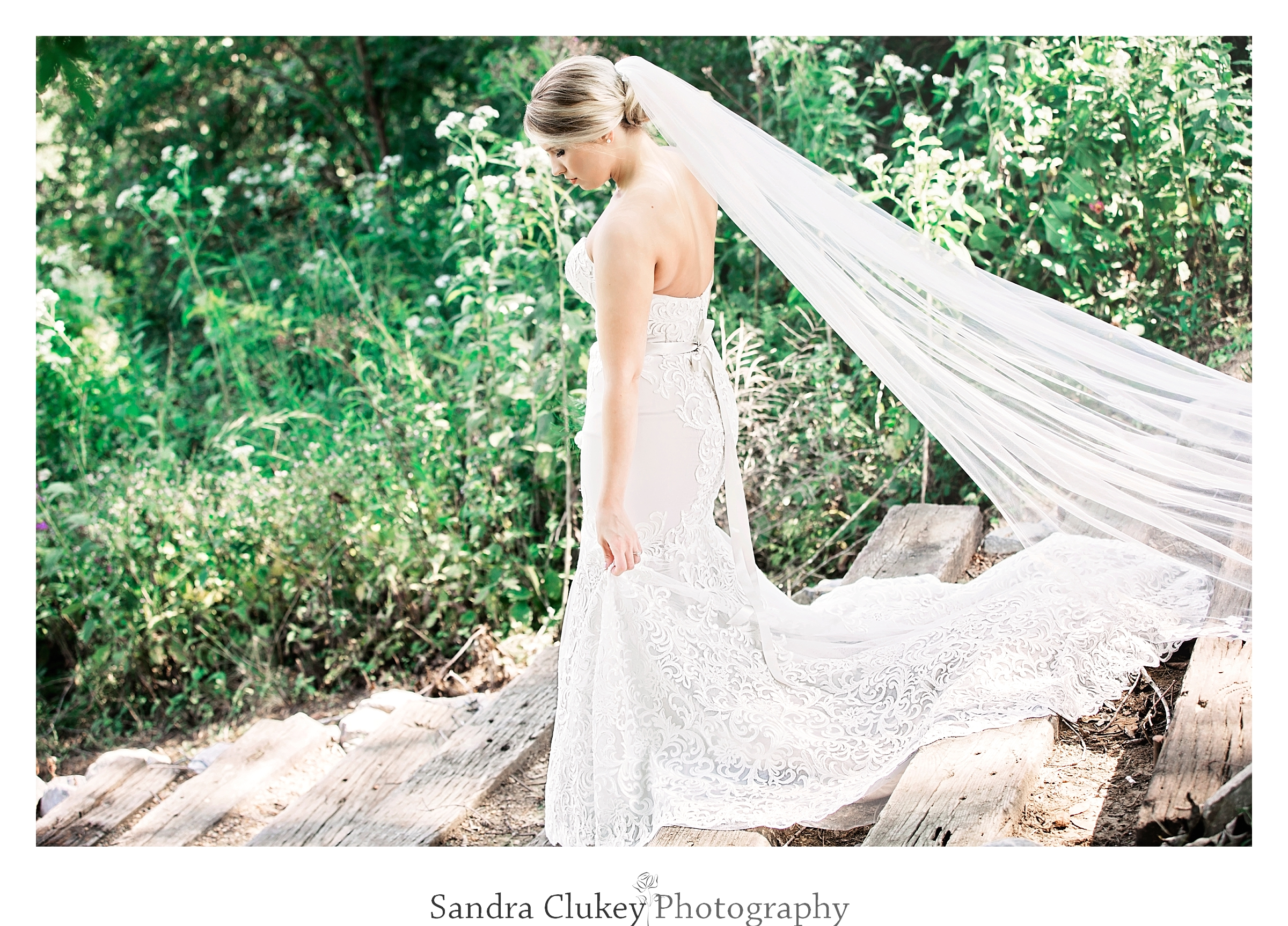 Bride with grace and elegance. Tennessee RiverPlace