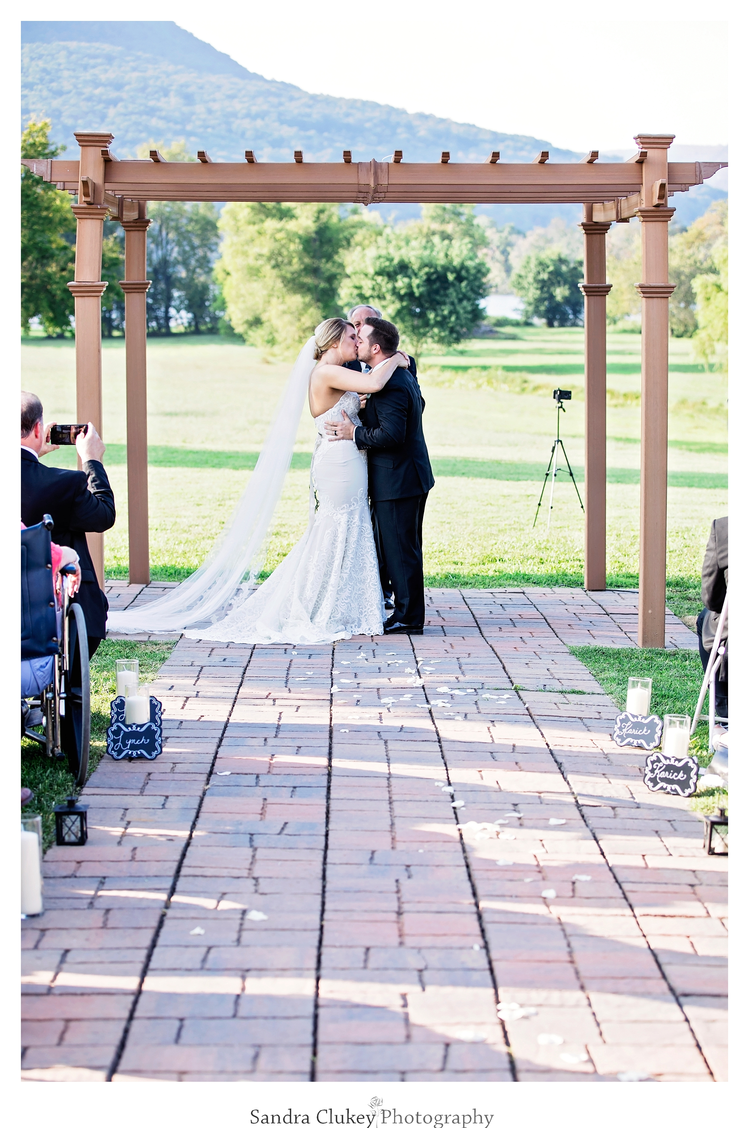 You may kiss the bride! Tennessee RiverPlace, Chattanooga TN