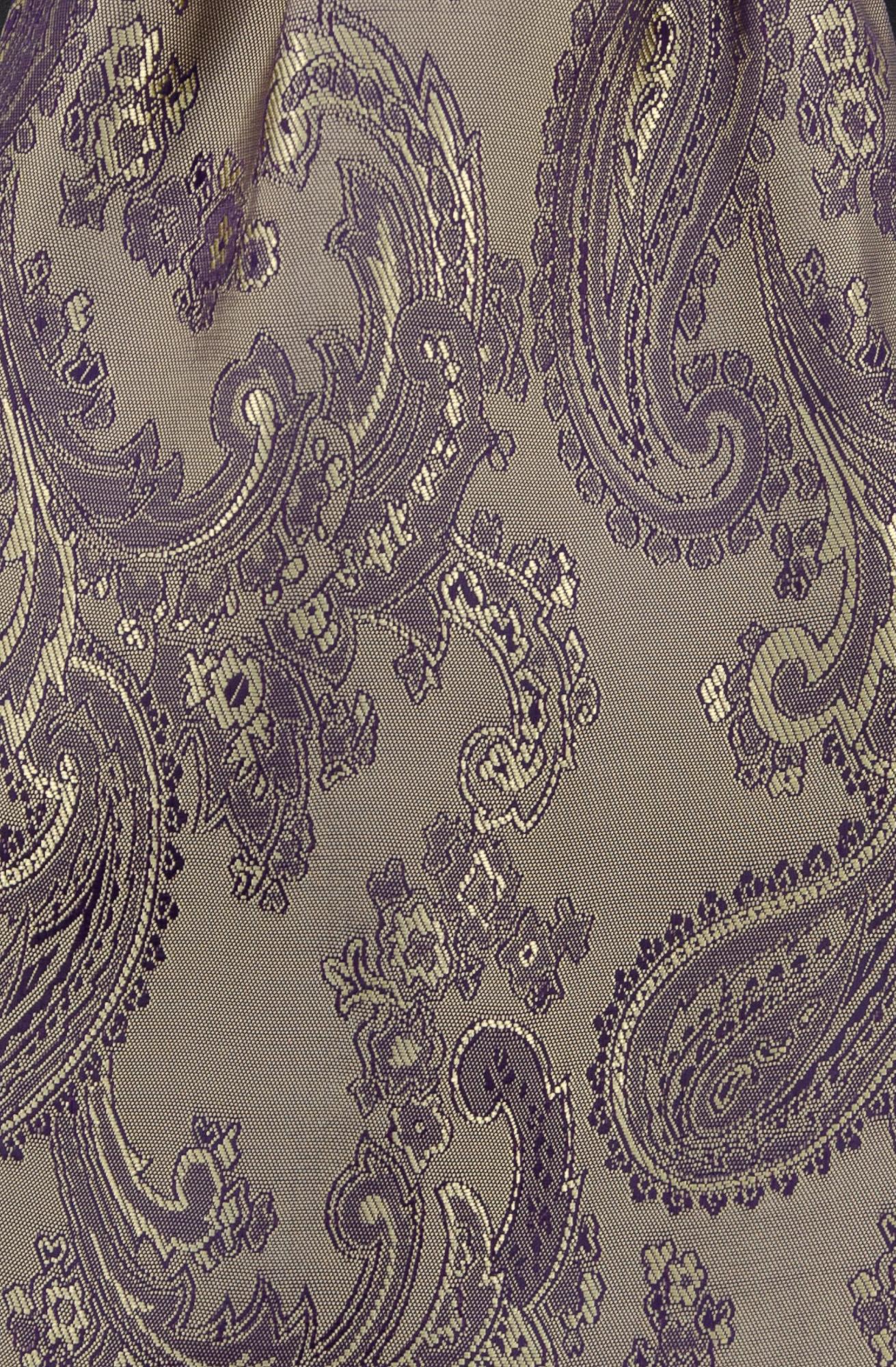 Gold/Purple Paisley (51)