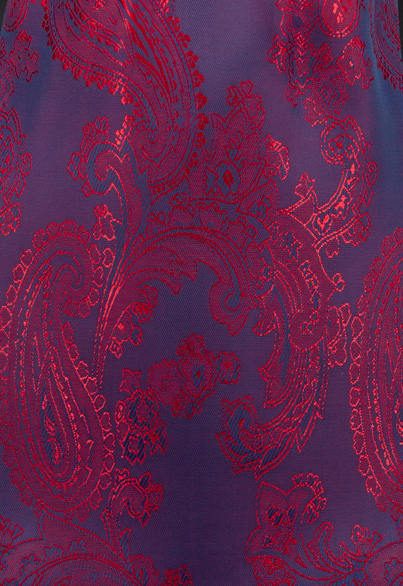 Navy/Red Paisley (52)