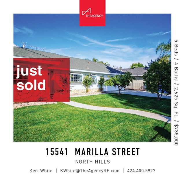Just Sold | North Hills | 5 Beds 4 Baths | $35,000 over asking with 5 offers. Had to interview against 8 agents on this one. Insane! SO excited for the new homeowners and grateful for the opportunity! Never a dull moment 🎉🎉⠀⠀⠀⠀⠀⠀⠀⠀⠀ ⠀⠀⠀⠀⠀⠀⠀⠀⠀ ⠀⠀⠀⠀⠀⠀⠀⠀⠀ #justsold #realestate #theagencyre #northhills #keriwhiteteam #buyers #sellers
