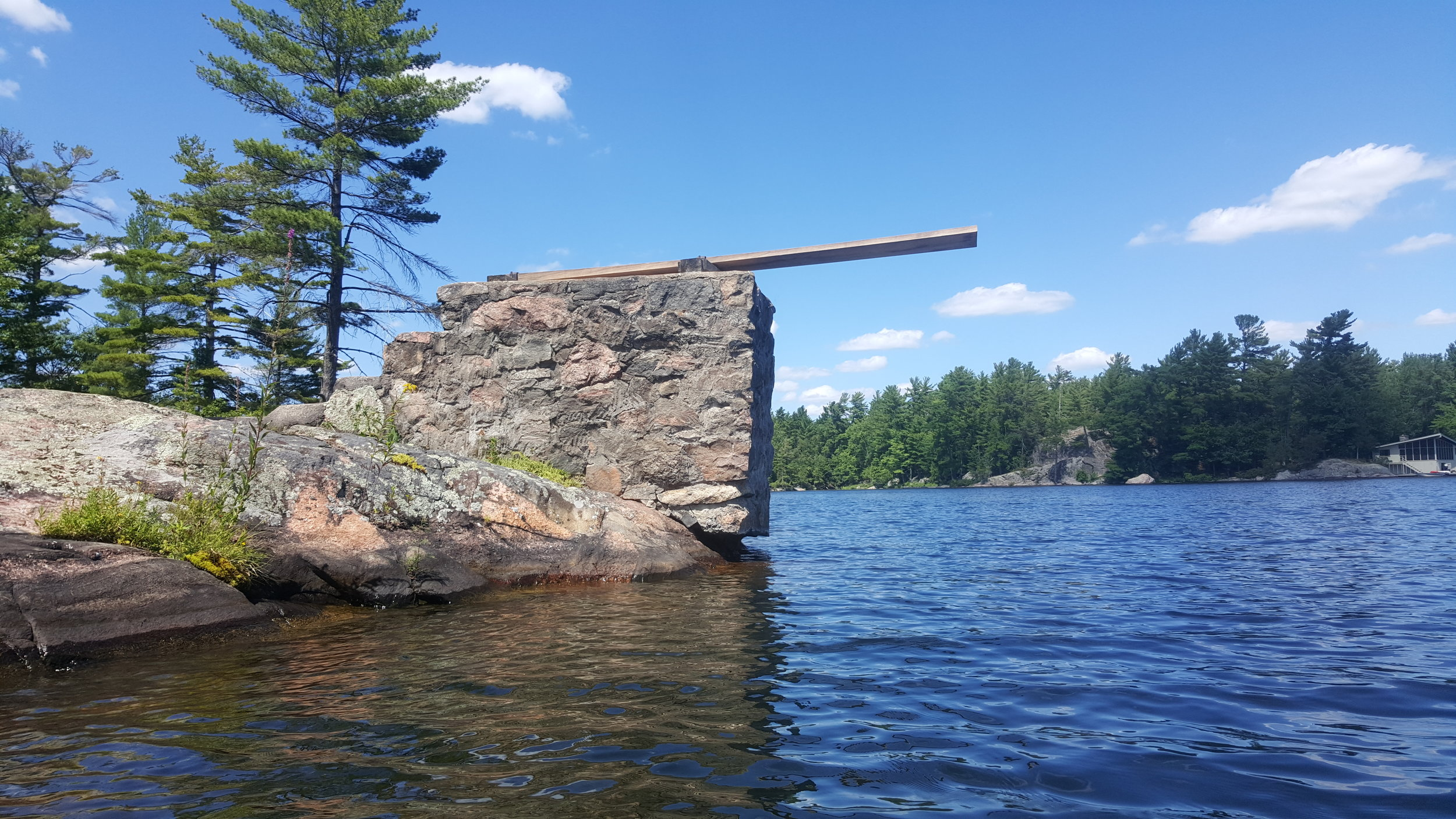 A reliable diving board is still a diving board.