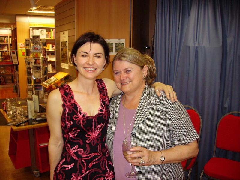 Isobel and Carole Blake