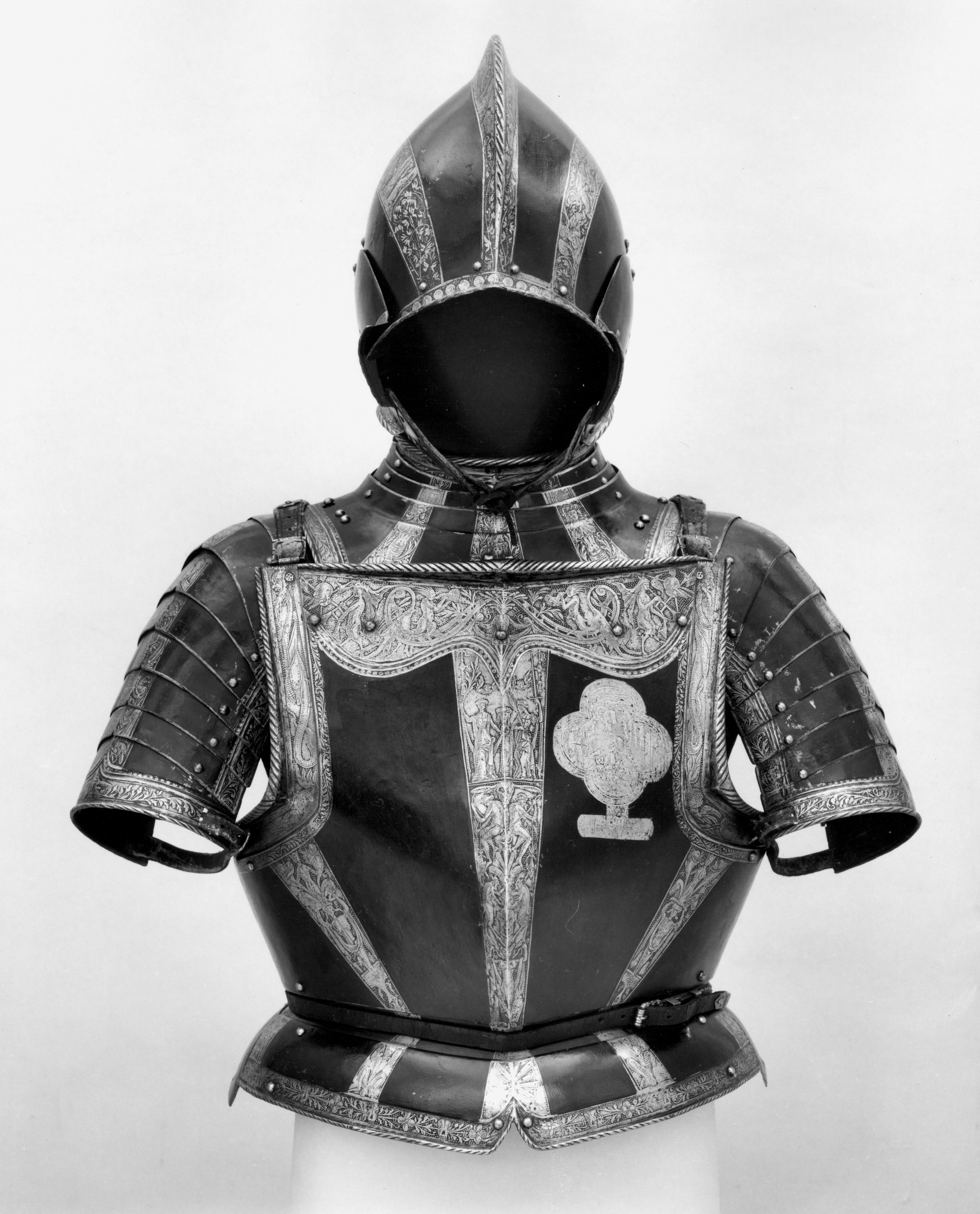 Armor, Northern German, ca. 1560-65. Courtesy the Metropolitan Museum of Art.