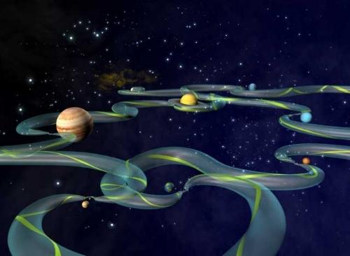 Artist concept courtesy of NASA