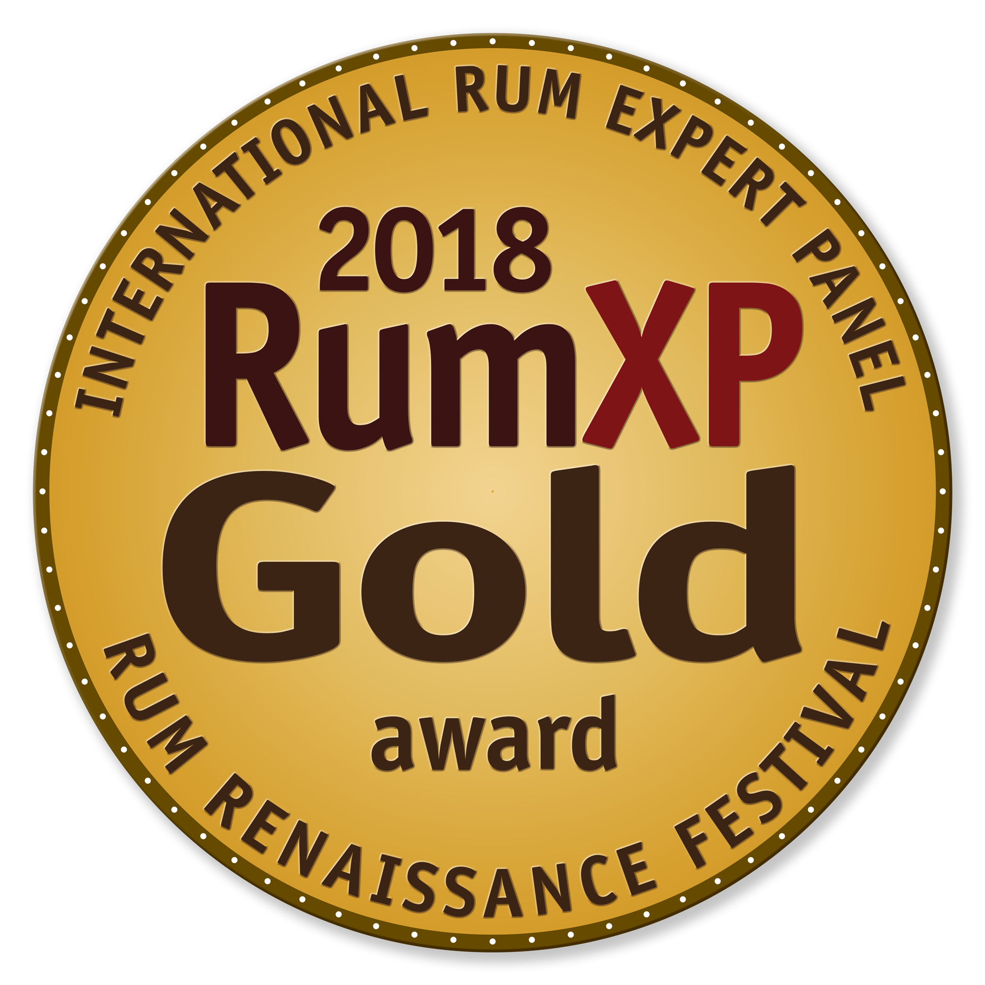 Peru 2004 : Rum XP Miami 2018, Gold Medal, US