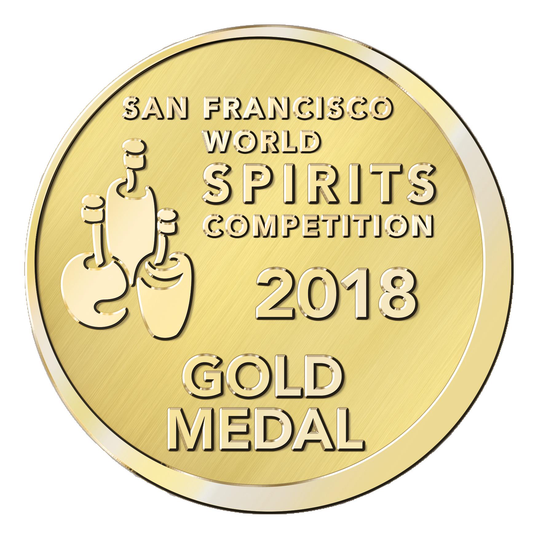 Stiggins' Fancy : San Francisco World Spirits Competition 2018, Gold Medal, USA