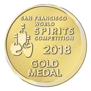Stiggins' Fancy : San Francisco World Spirits Competition 2018, Gold Medal, USA