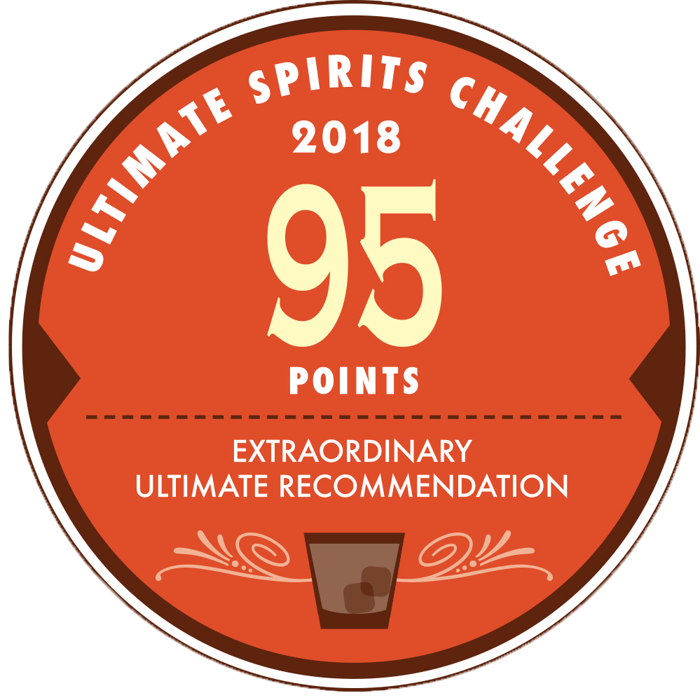 Stiggins' Fancy : Ultimate Spirits Challenge 2018, 95 Points Extraordinary Ultimate Recommendation, USA